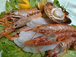 Cena a base di pesce!